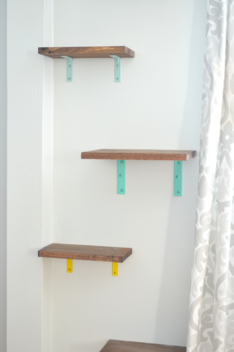 shelves for cats diy