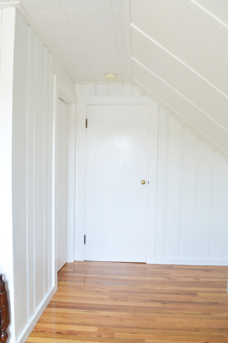 Transforming An Attic Bedroom With White Paint    Plaster U0026 Disaster