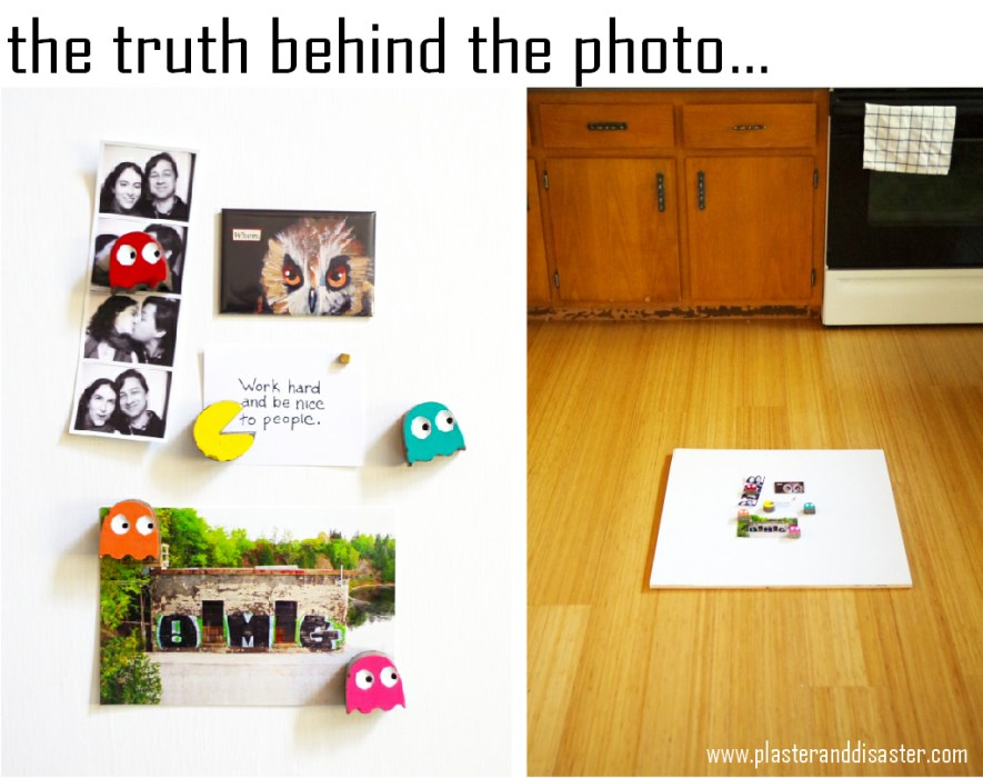 The ugly truth behind the photo - read the whole story at Plaster & Disaster