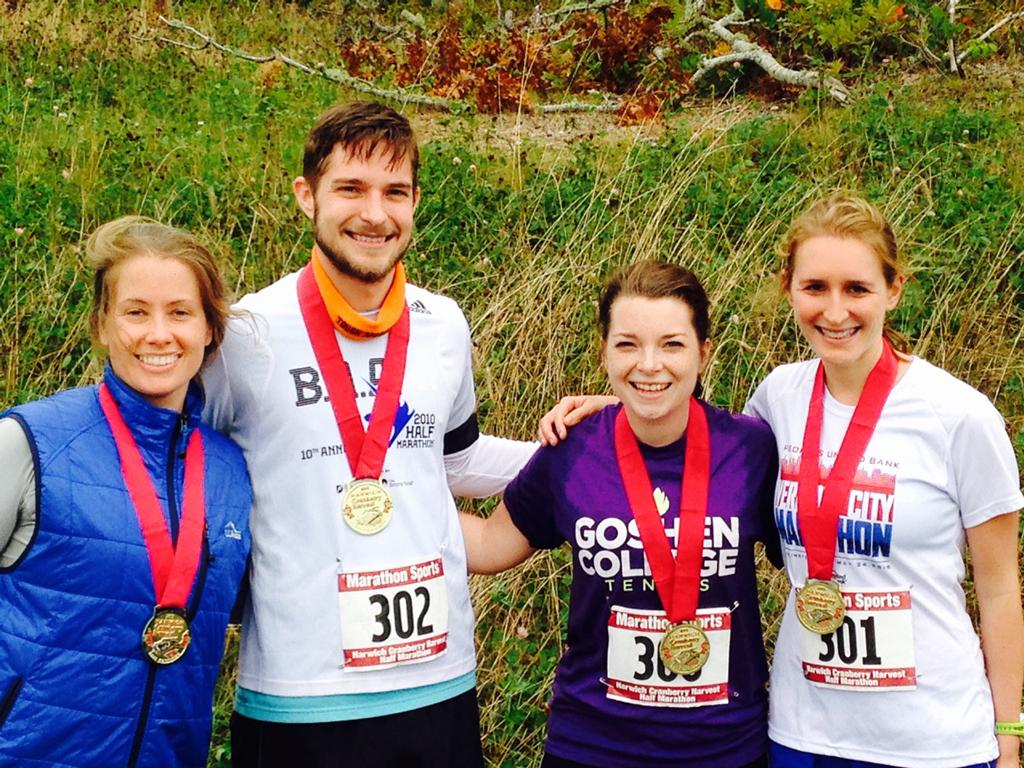 Harwich Cranberry Half Marathon -- Plaster & Disaster