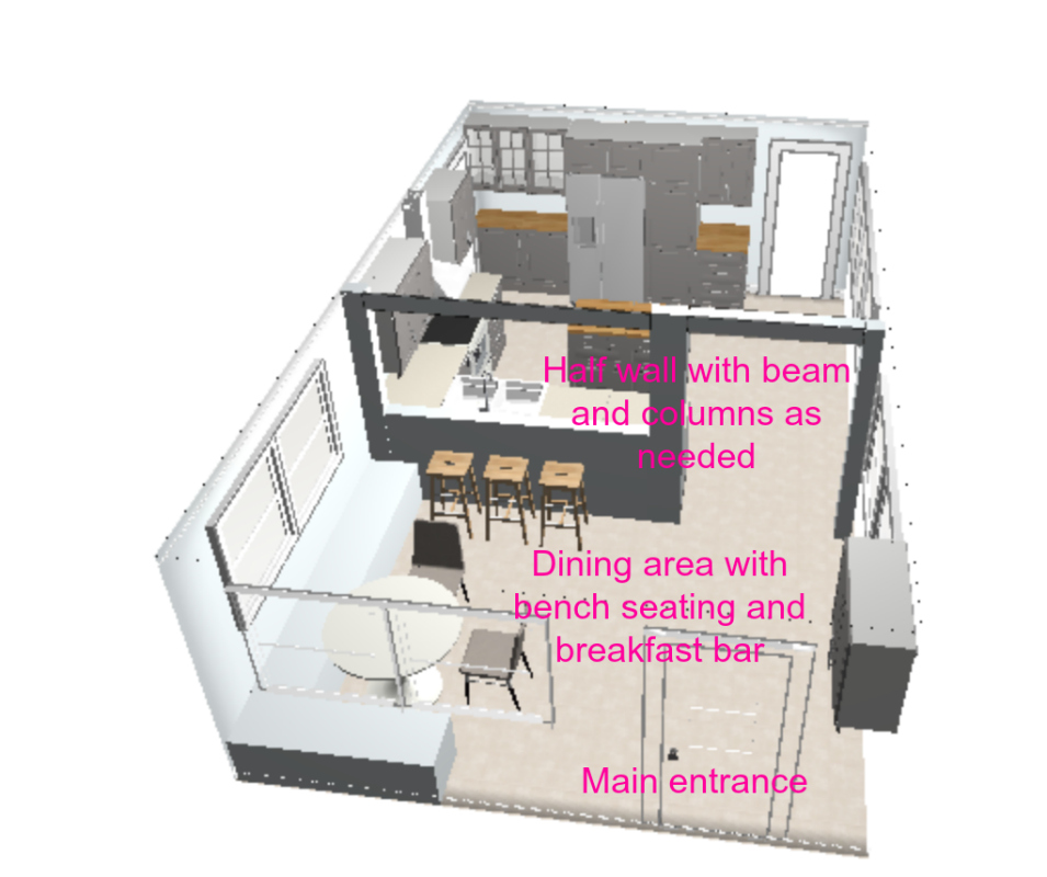 Kitchen renovation plans -- Plaster & Disaster