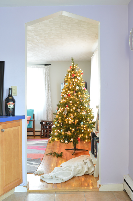 Real life holiday home tour -- Plaster & Disaster