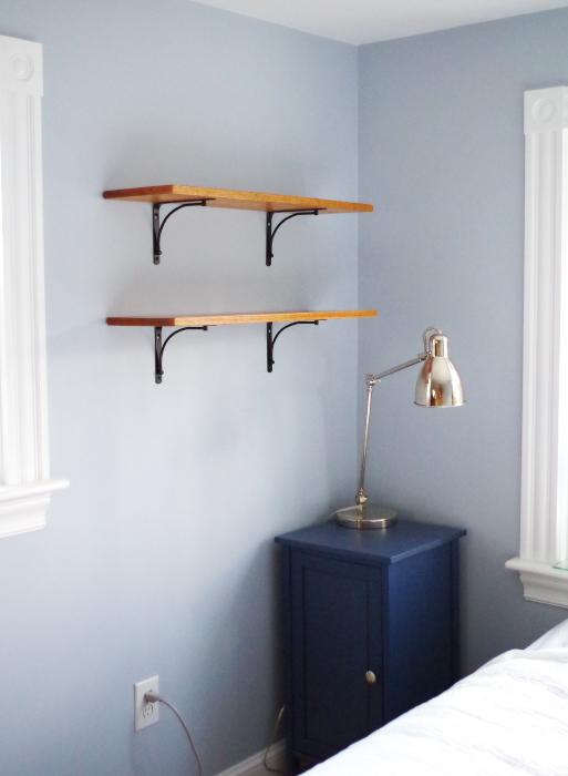 Hanging Shelves In The Bedroom   Plaster U0026 Disaster