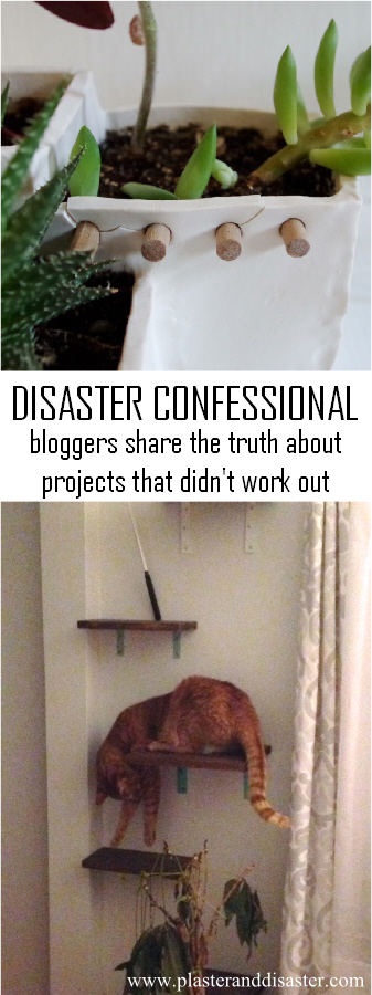 Disaster confessional - bloggers share the truth about the projects that didn't work out - Plaster & Disaster