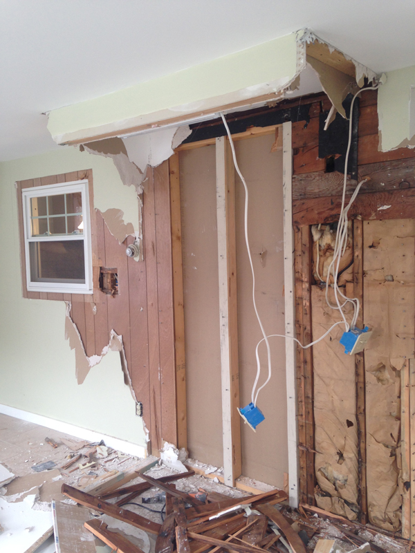 Removing Kitchen Cabinets From Wall