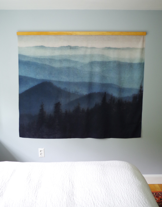 How to hang a tapestry - Plaster & Disaster