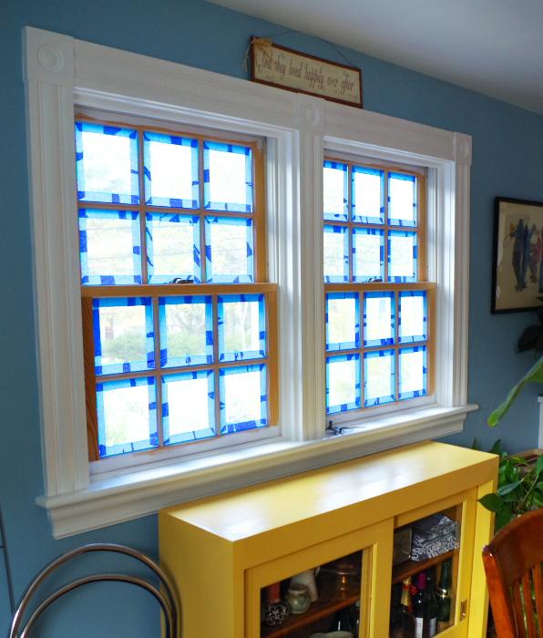 Painting Windows - Plaster & Disaster