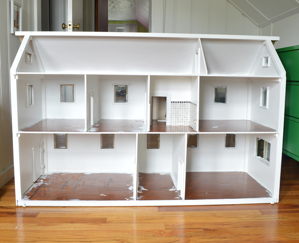 Dollhouse painting -- Plaster & Disaster