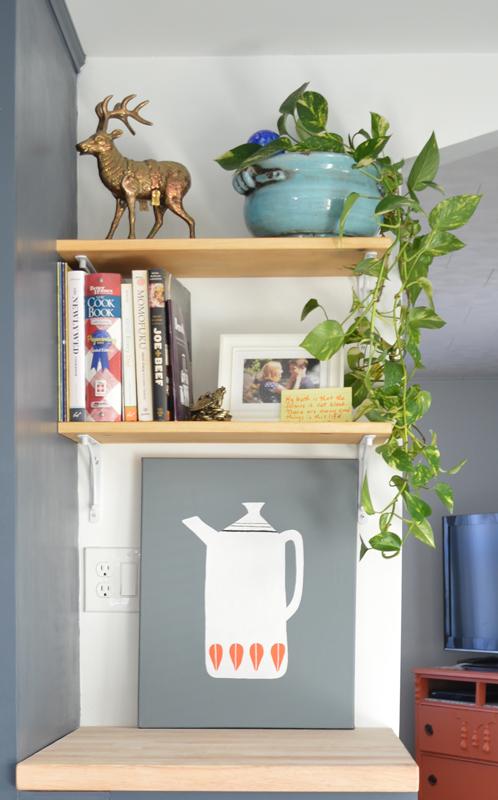 Open shelves -- Plaster & Disaster