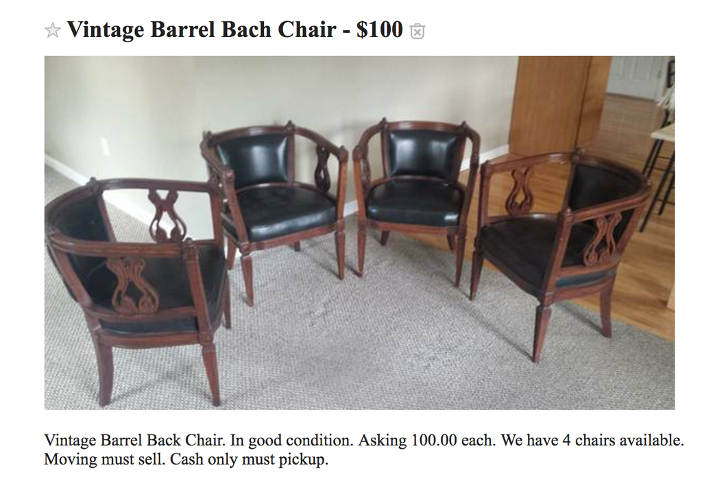 Craigslist awesome or terrible -- Plaster & Disaster