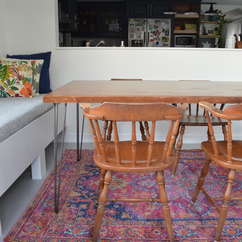 Super Diy Hairpin Leg Dining Table Plaster Disaster Creativecarmelina Interior Chair Design Creativecarmelinacom