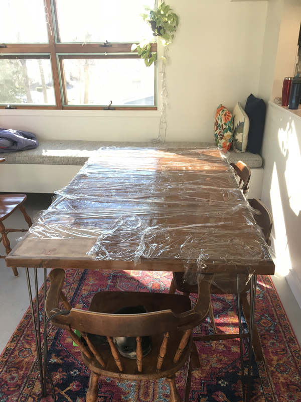 Table finish -- Plaster & Disaster