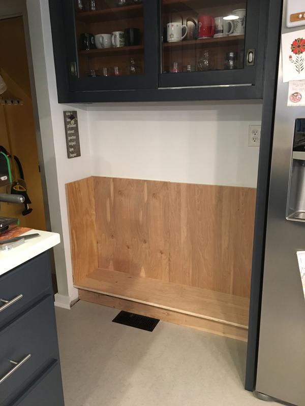 DIY kitchen cabinets -- Plaster & Disaster