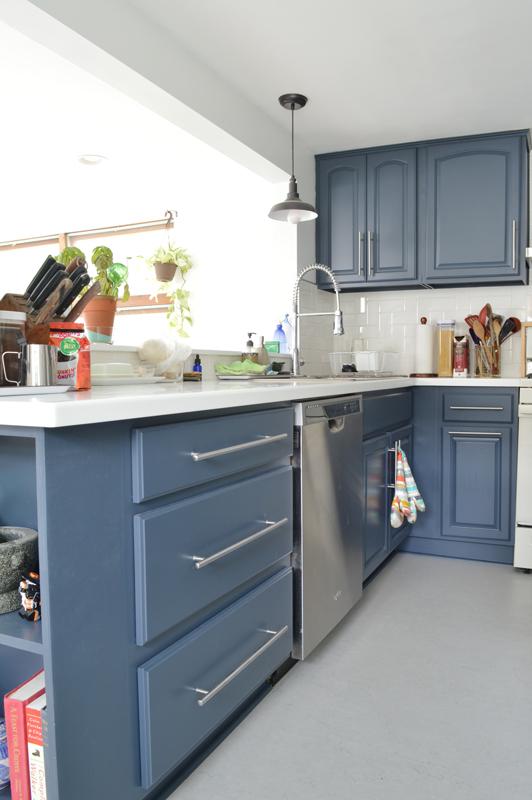 Kitchen reno -- Plaster & Disaster