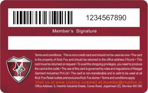 Loyalty Membership Cards