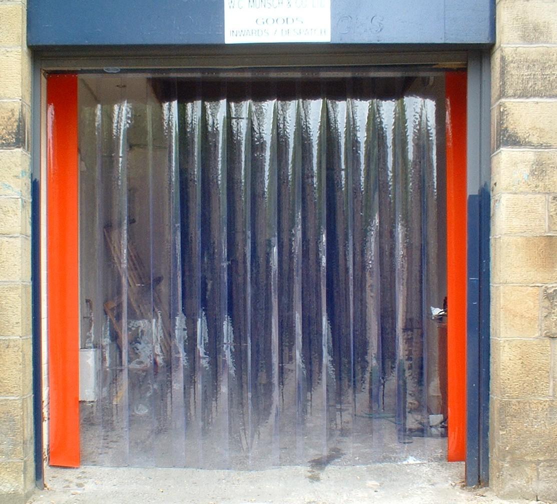 plastic warehouse curtains plastic