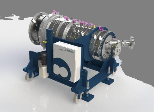 εξωθηση σωληνων extruder Rollepaal - PLASTIC-INDUSTRY.GR RMD 20 messe v2