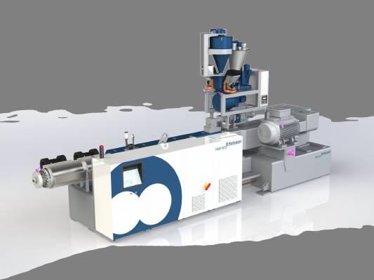 εξωθηση σωληνων extruder Rollepaal - PLASTIC-INDUSTRY.GR Trex 125-33 RDA