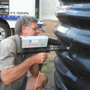 Repairing a water tank