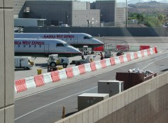 airport standard jersey barriers