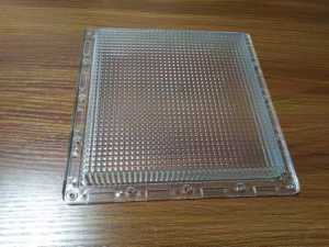 clear plastic molding covers