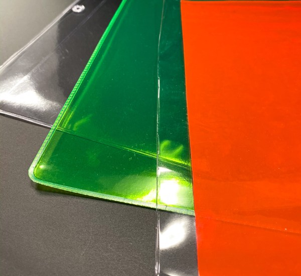 Custom Ziploc products in different color coded