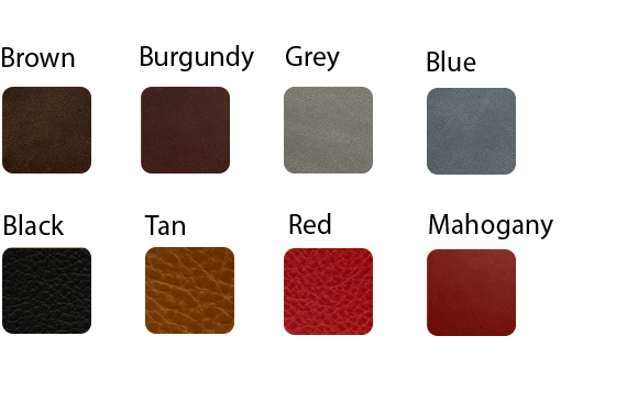 Stitched Hard Cover colors