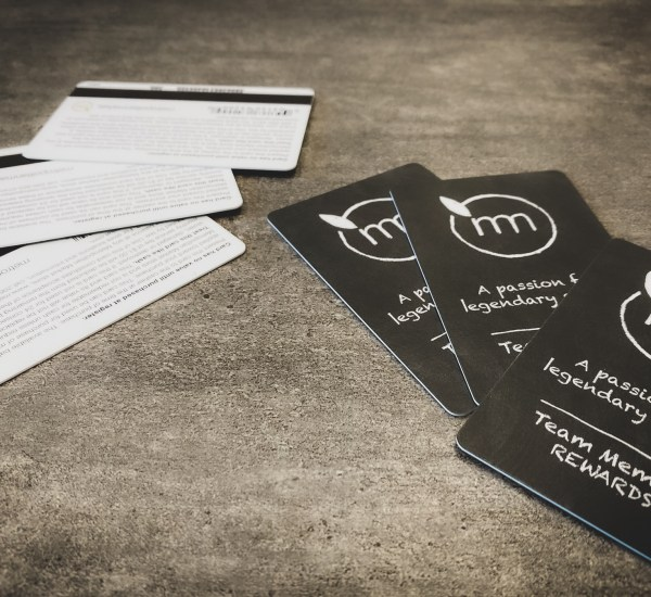 PVC cards and magnetic stripes