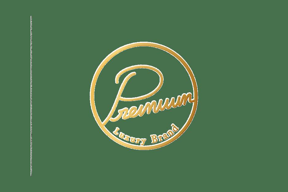 Gold foil logo
