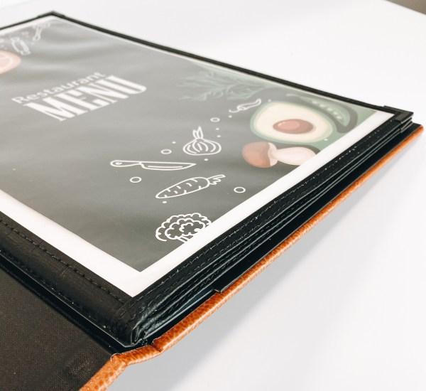 menu insert holder