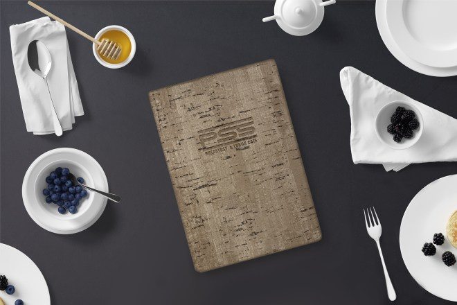 Cork menu color