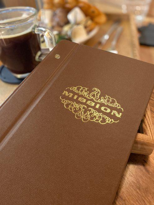 mission menu cover