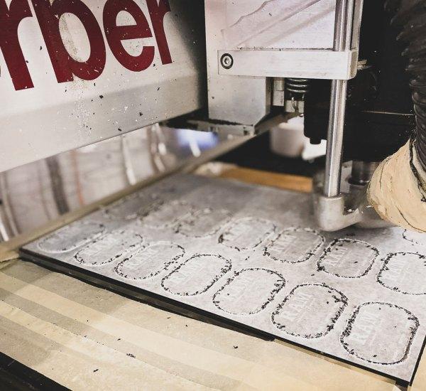Custom printing and cnc cutting