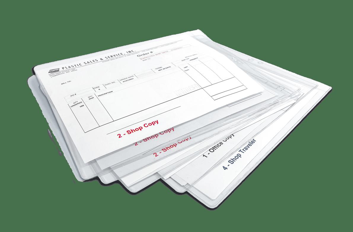 Plastic envelopes & pouches