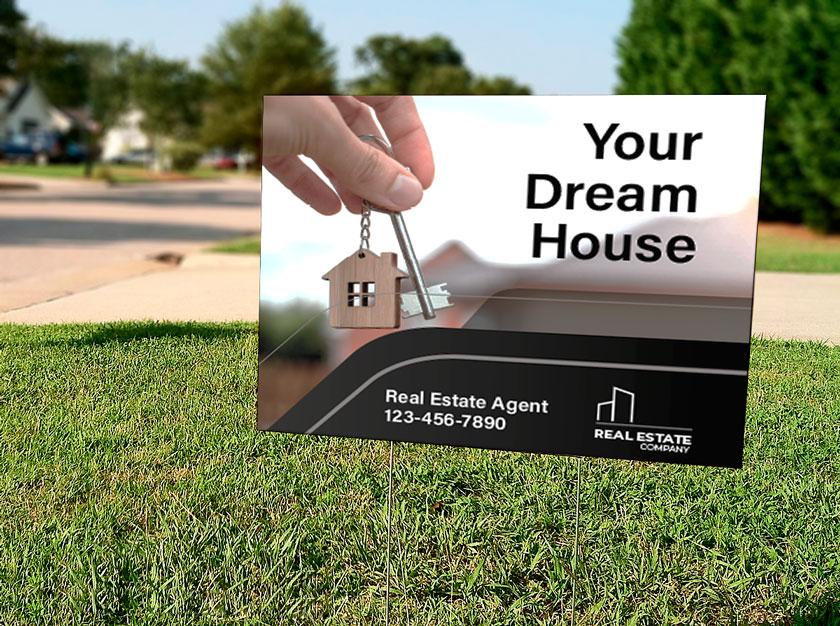 yard signage options