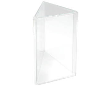 3 sides triangle sign holder
