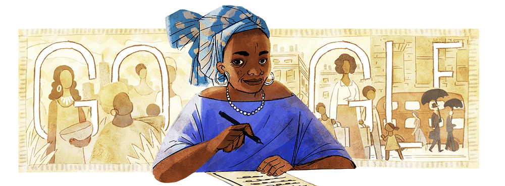 Buchi Emecheta google doodle