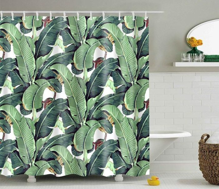 shower curtain spa