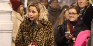'Khaleesi' Emilia Clarke Stars In Christmas Film