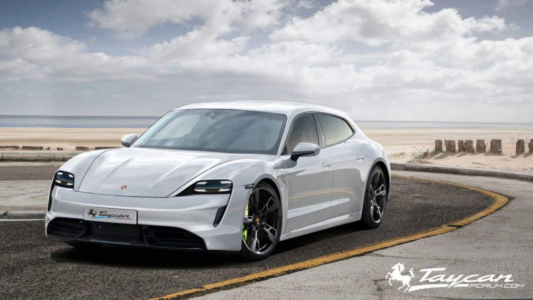 Porsche Taycan electric vehicle