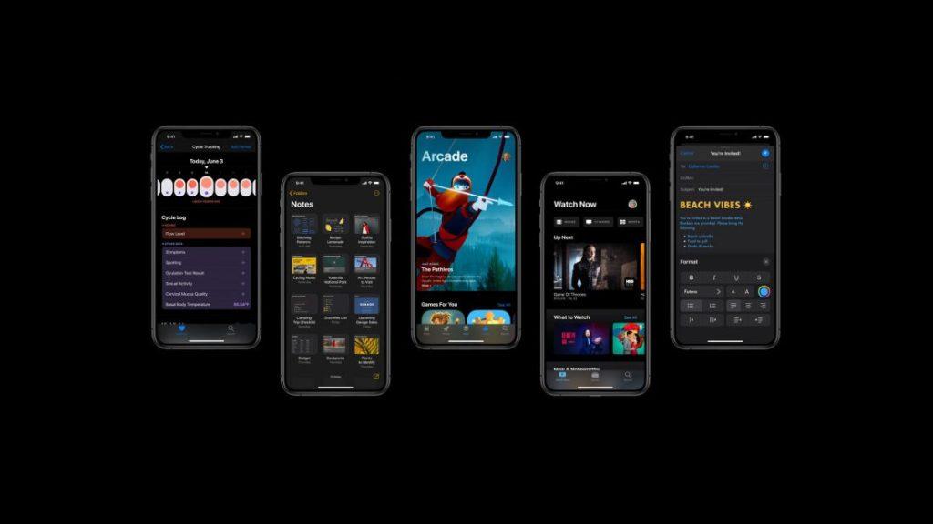 iOS13 iPhone app updates