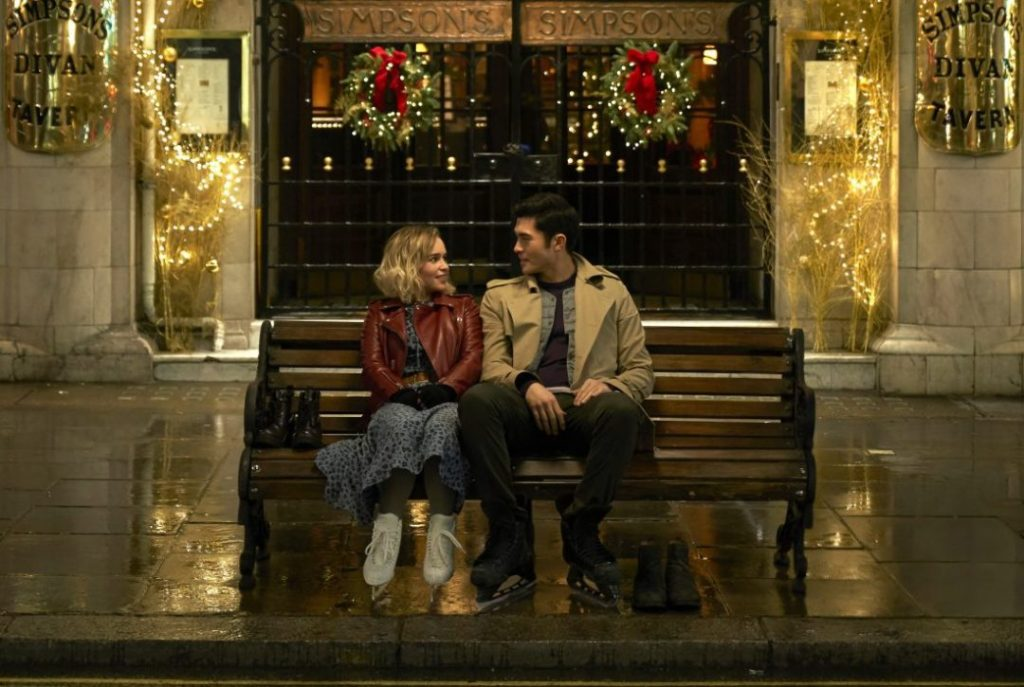 emilia clarke stars in christmas movie
