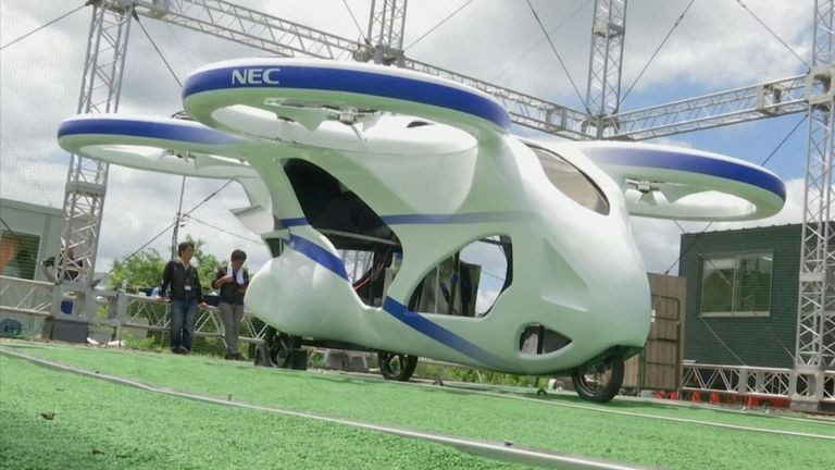 Flying cars Japan
