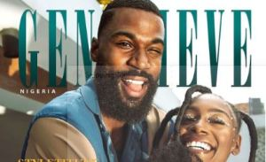 BBNaija's Mike And Wife Perri Cover Genevieve Magazine December Edition