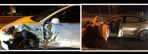 Tesla Model 3 Wrecks Police And Civilian Cars On Autopilot