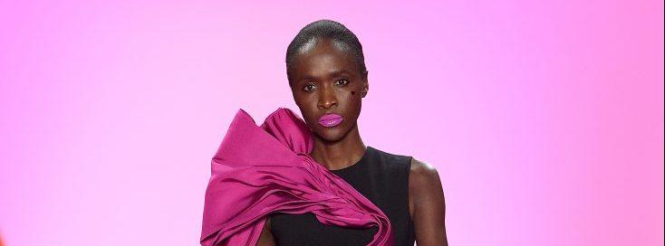 Christian Siriano on new york fashion week runway