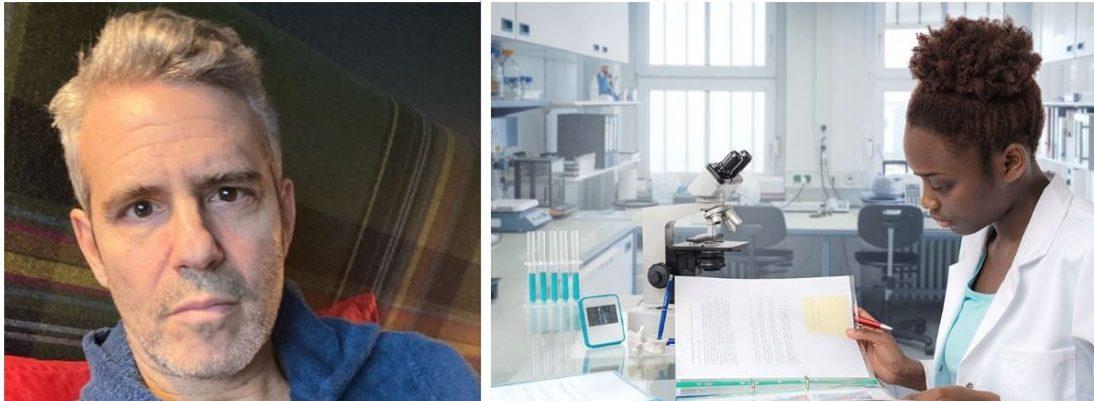 Andy Cohen malaria treatment