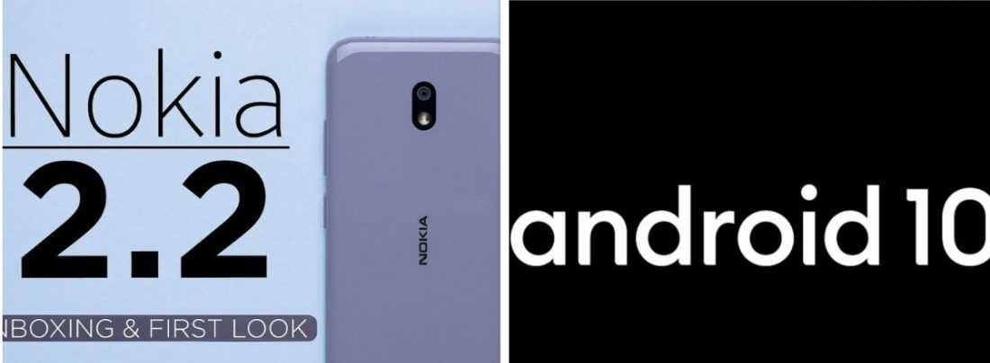 Android 10 Nokia 2.2