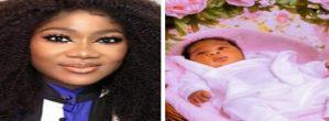 Mercy Johnson-Okojie Shares Lovely Photos Of Her Newborn Baby