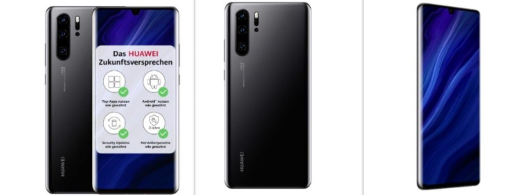 Huawei P30 Pro new edition uses Google